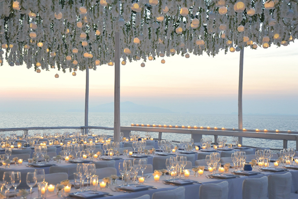 candlelit weddings Formal Destination Wedding in Italy