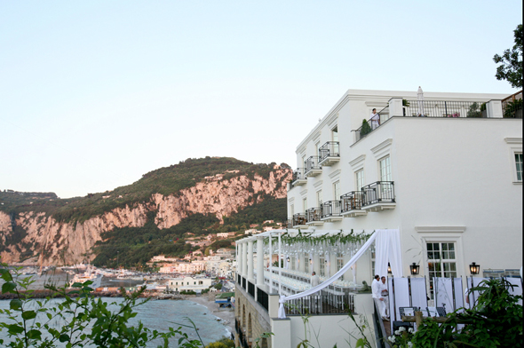 capri wedding location