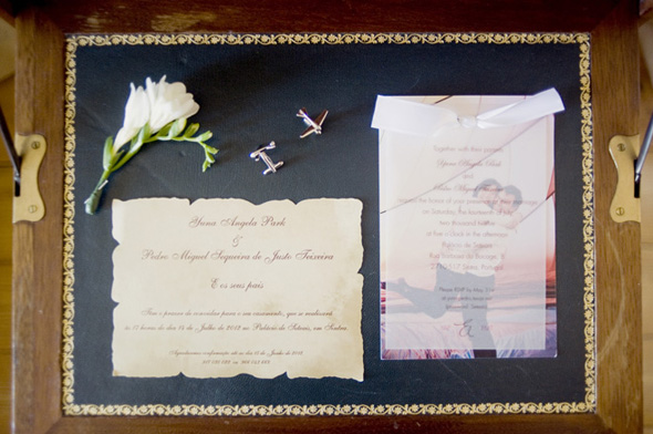 destination wedding invitation Destination Wedding in Sintra, Portugal