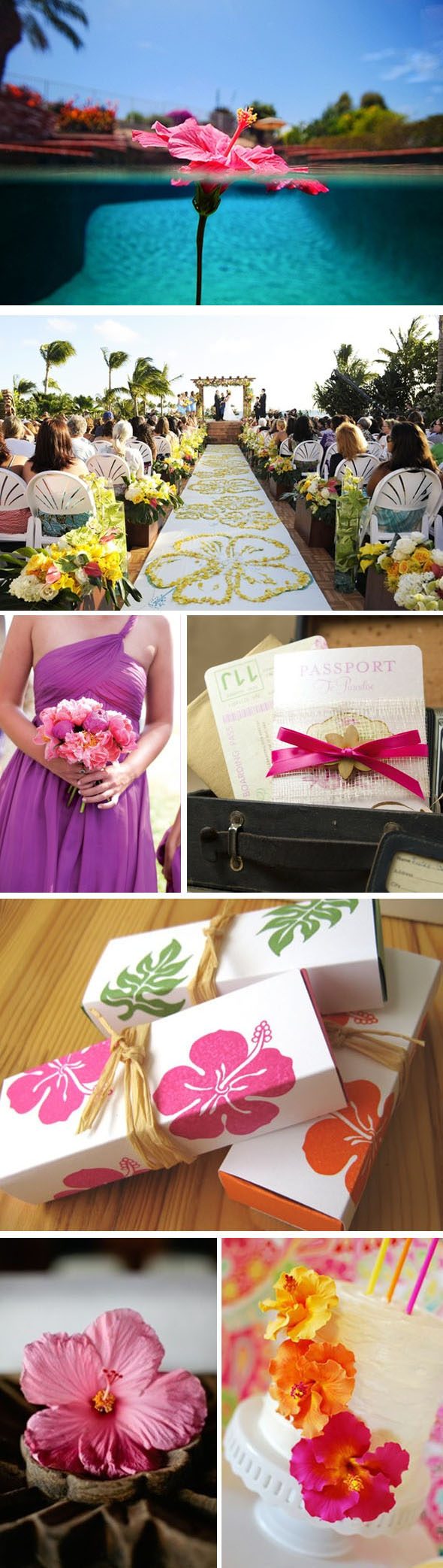 hibiscus wedding ideas