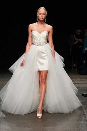 high low wedding dress