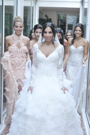 Italian wedding dresses lace