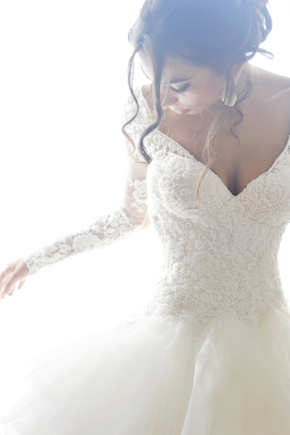 long sleeve wedding dresses Formal Destination Wedding in Italy