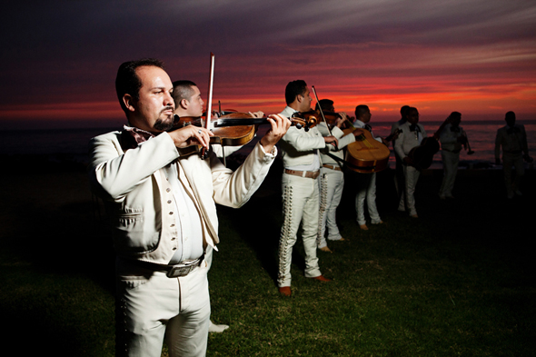 mexico wedding music Destination Wedding in Rosarito, Mexico