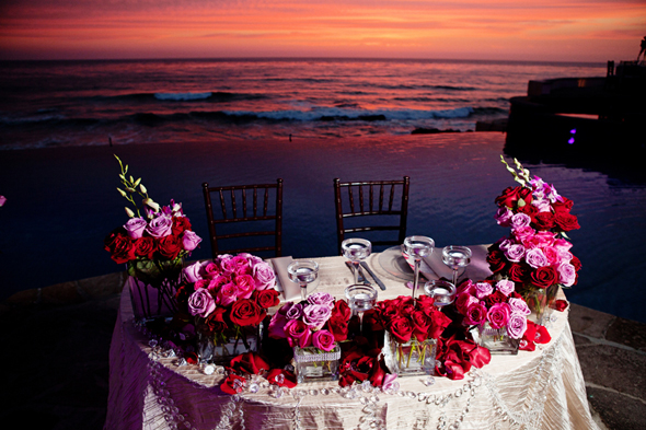 sweetheart table ideas Destination Wedding in Rosarito, Mexico