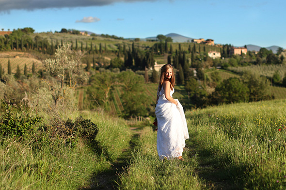 Tuscany destination wedding Tuscany, Italy Bridal Portrait Photo Shoot