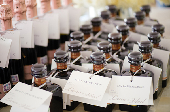 alcohol wedding favors Cabo San Lucas Villa Destination Wedding