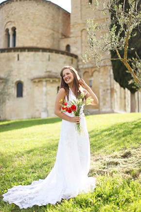 destination wedding tuscany Tuscany, Italy Bridal Portrait Photo Shoot