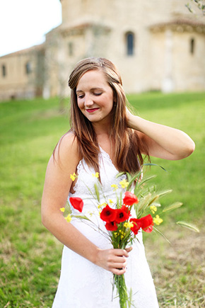 destination weddings tuscany Tuscany, Italy Bridal Portrait Photo Shoot