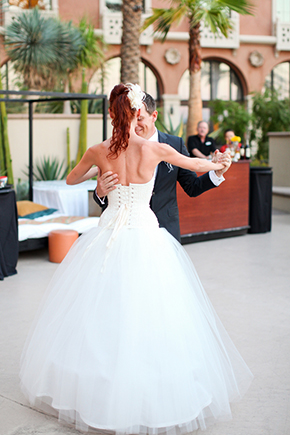 first dance song Lake Las Vegas Destination Wedding