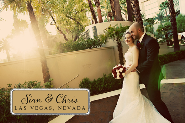 four seasons las vegas wedding1 Four Seasons Las Vegas Destination Wedding