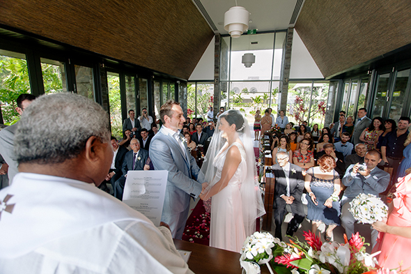 intercontinental fiji wedding