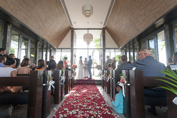 intercontinental fiji weddings