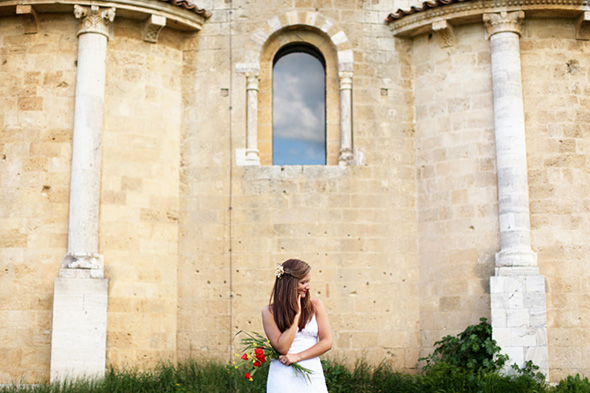 italy destination wedding Tuscany, Italy Bridal Portrait Photo Shoot