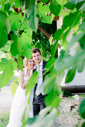 italy destination wedding1 Red, White and Green Destination Wedding in Bagnolo Piemonte, Italy