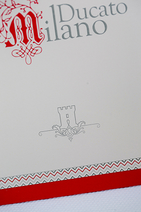 italy wedding programs Red, White and Green Destination Wedding in Bagnolo Piemonte, Italy