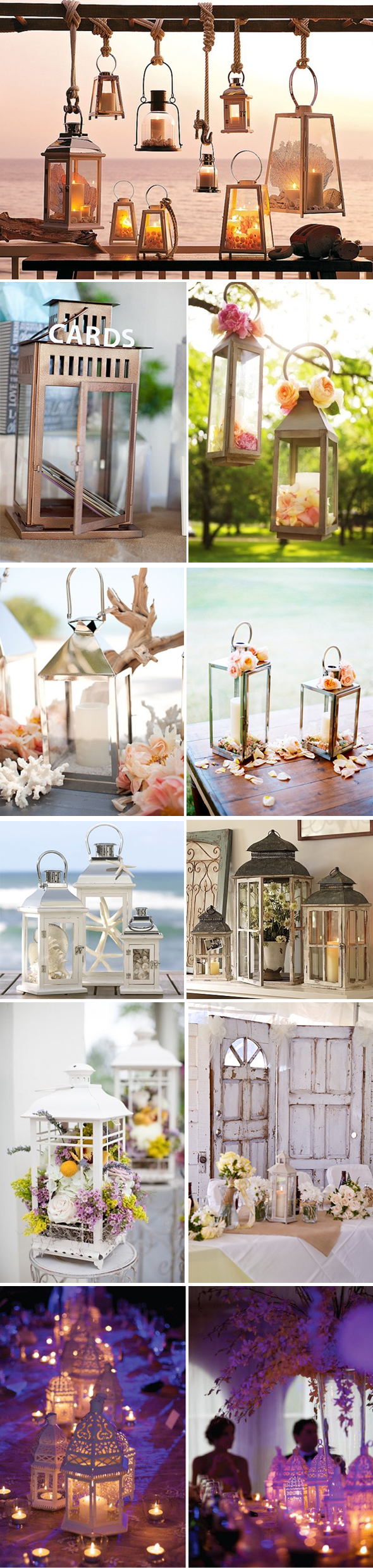 lantern wedding ideas