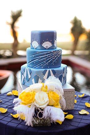 las vegas wedding cake1 Lake Las Vegas Destination Wedding