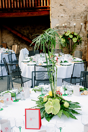 red and green weddings Red, White and Green Destination Wedding in Bagnolo Piemonte, Italy