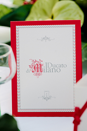 red and white wedding ideas1 Red, White and Green Destination Wedding in Bagnolo Piemonte, Italy