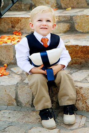 ring bearer outfit One&Only Palmilla Destination Wedding