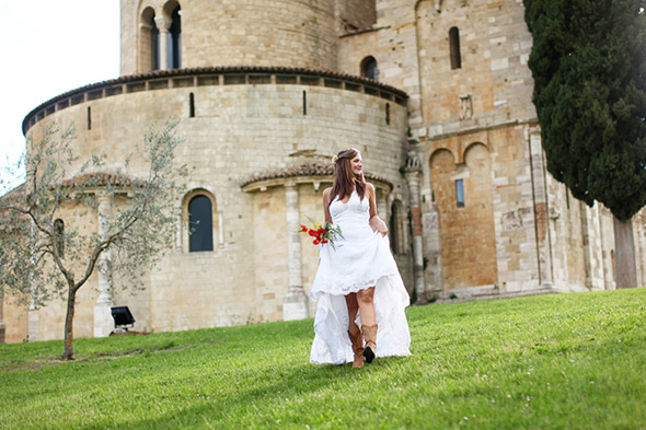 tuscany weddings Tuscany, Italy Bridal Portrait Photo Shoot