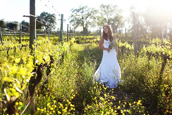 tuscany winery wedding Tuscany, Italy Bridal Portrait Photo Shoot
