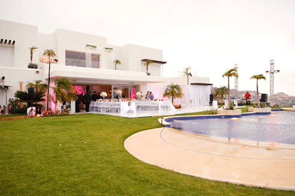 villa mestre Cabo San Lucas Villa Destination Wedding