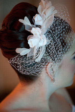vintage veils Four Seasons Las Vegas Destination Wedding