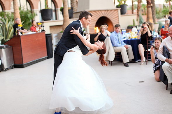 wedding first dance Lake Las Vegas Destination Wedding
