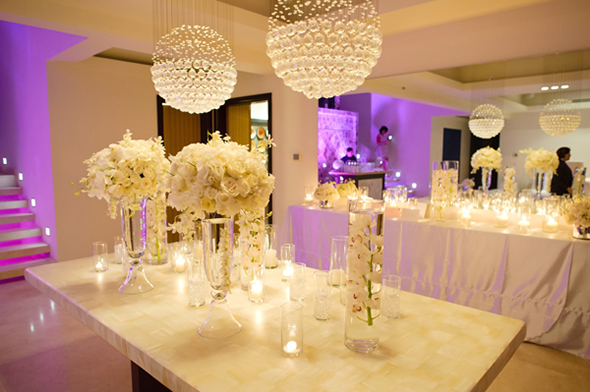 white wedding ideas Cabo San Lucas Villa Destination Wedding