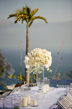white weddings Cabo San Lucas Villa Destination Wedding