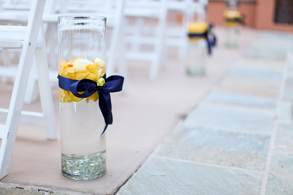 yellow and purple wedding ideas Lake Las Vegas Destination Wedding