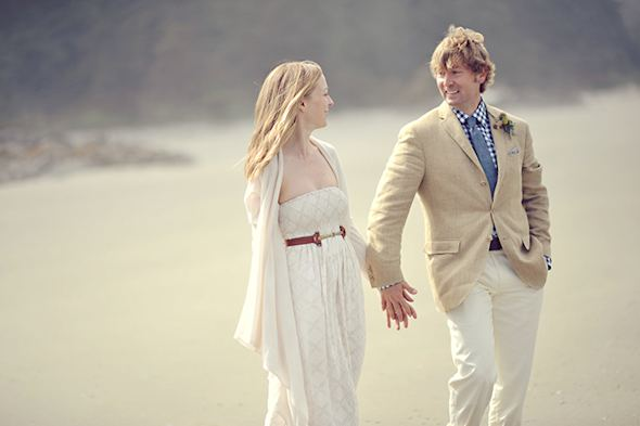 causal wedding attire Elopement on Vancouver Island, BC