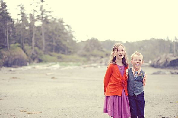 children photographers Elopement on Vancouver Island, BC