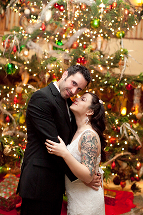 christmas wedding Wedding at the Four Seasons Koele Lodge Lanai, Hawaii