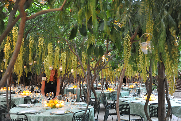 destination wedding decor italy Capri, Italy Wedding Welcome Dinner