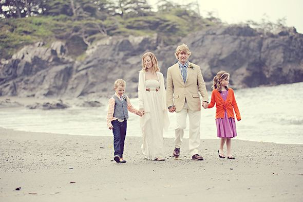 family elopement Elopement on Vancouver Island, BC
