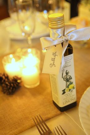 italy wedding favors Intimate Destination Wedding in Tuscany, Italy