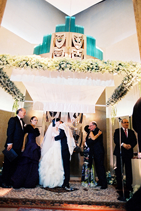 jewish wedding ceremonies