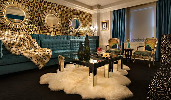 Nyc carlton hotel hip new themed suites the destination for Hippest hotels in nyc