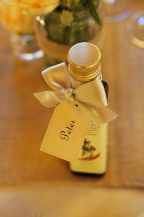 olive oil wedding favors Intimate Destination Wedding in Tuscany, Italy