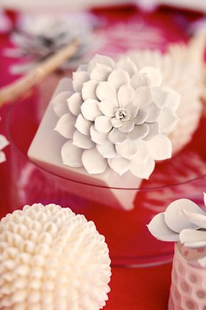 shell weddings Pink and White Beach Wedding Ideas