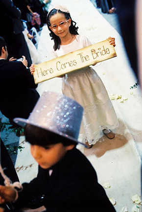 wedding signs for flower girl