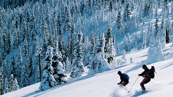 British Columbia ski resorts