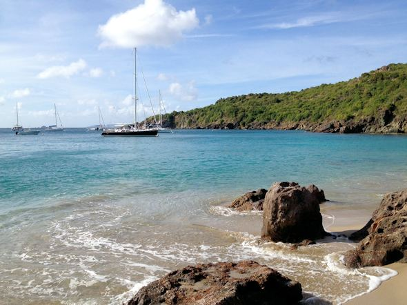 Colombier Beach St. Barths Honeymoon