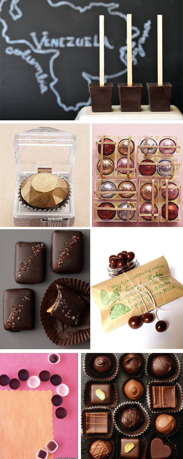 chocolate+wedding+favors