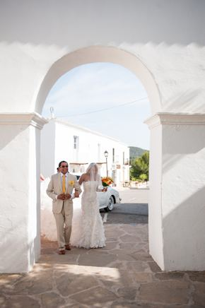 destination wedding location1 Red + White Destination Wedding in Ibiza, Spain