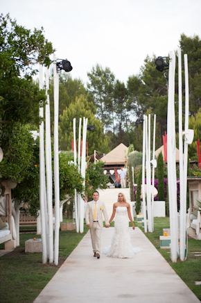 destination weddings1 Red + White Destination Wedding in Ibiza, Spain