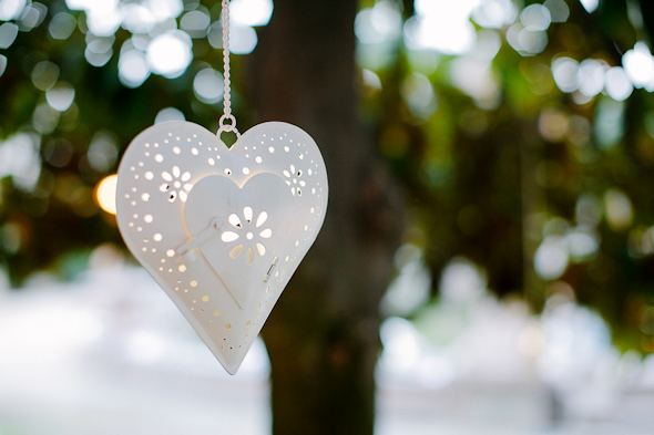 heart lanterns Destination Wedding in Imperia, Italy